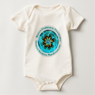 Copy of CRPS RSD Blazing Hand Starburst on Dual Ic Baby Bodysuit
