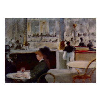 Copy of In Cafe by Edouard Manet Posters