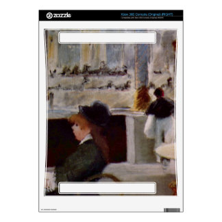 Copy of In Cafe by Edouard Manet Xbox 360 Console Decal