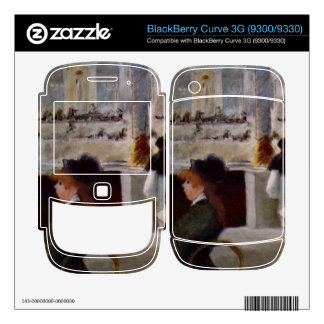 Copy of In Cafe by Edouard Manet Decals For BlackBerry
