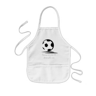 Copy of MCj03110540000[1], Soccer Is Life !!!ab... Kids' Apron