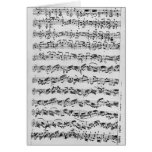 Copy of 'Partita in D Minor for Violin' Cards