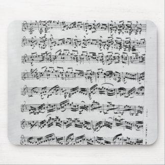 Copy of 'Partita in D Minor for Violin' Mouse Pad