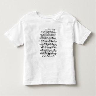 Copy of 'Partita in D Minor for Violin' T Shirt