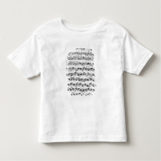 Copy of 'Partita in D Minor for Violin' Toddler T-shirt