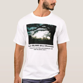 Copy of ScannedImage-4, August 29,2005 Biloxi M... T-Shirt