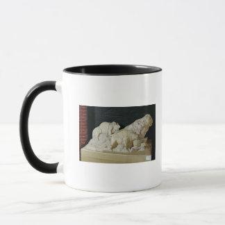 Copy of sculpture of bisons, Le Mug