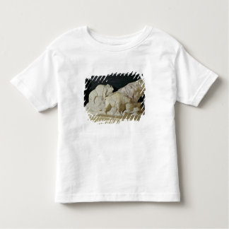 Copy of sculpture of bisons, Le Toddler T-shirt