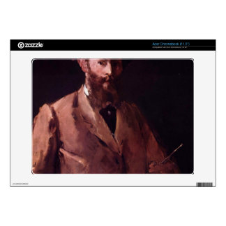 Copy of Self Portrait with Pallette by Manet Acer Chromebook Skin