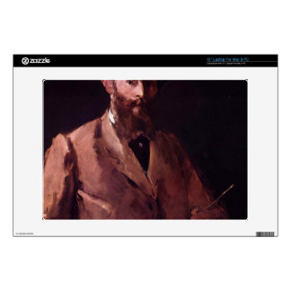 "Copy of Self Portrait with Pallette by Manet Skin For 13"" Laptop"