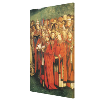 Copy of The Adoration of the Mystic Lamb 2 Canvas Print