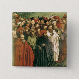 Copy of The Adoration of the Mystic Lamb Button