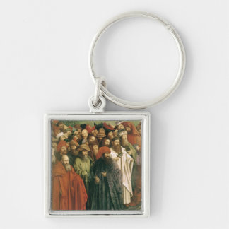 Copy of The Adoration of the Mystic Lamb Key Chains