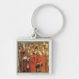 Copy of The Adoration of the Mystic Lamb Keychain