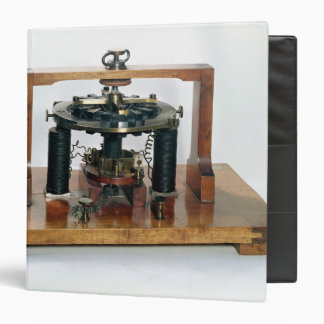Copy of the electro-magnetic 'macchinetta' vinyl binders