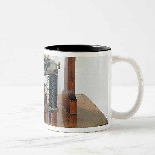 Copy of the electro-magnetic 'macchinetta' mugs