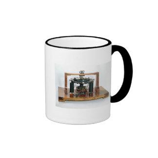 Copy of the electro-magnetic 'macchinetta' ringer coffee mug