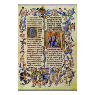 Copy Of The Golden Bull First Page By Meister Der Poster