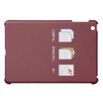 Copy, Paste, A  iPad case