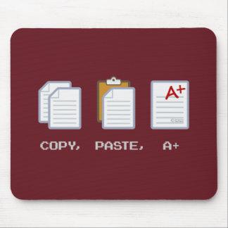 Copy, Paste, A+ mousepad