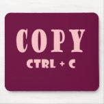 Copy Shortcut Key Mouse Pad
