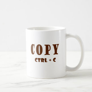 Copy Spreadsheet Document Classic White Coffee Mug