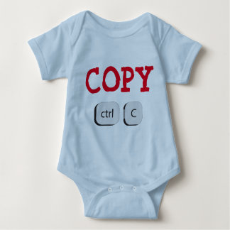 Copy Twin Baby Bodysuit