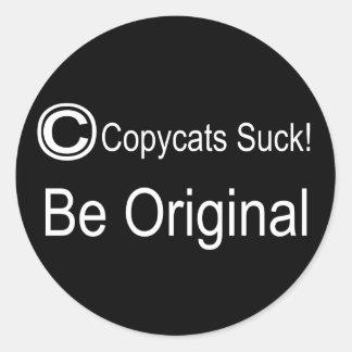 Copycat Classic Round Sticker