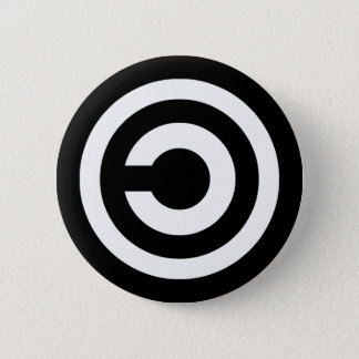 Copyleft - information wants to be free button