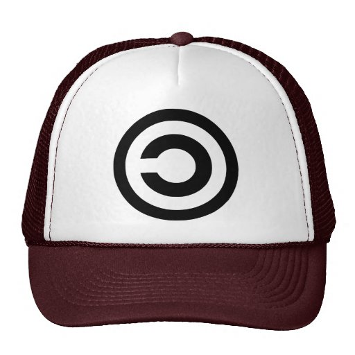 Copyleft - information wants to be free hats