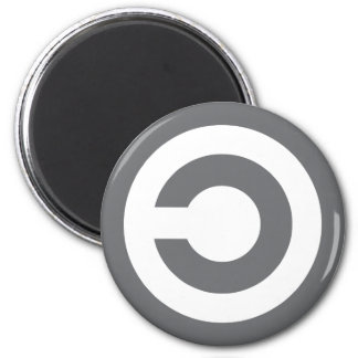 Copyleft - information wants to be free fridge magnets