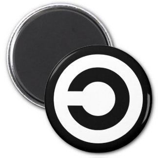 Copyleft - information wants to be free refrigerator magnets