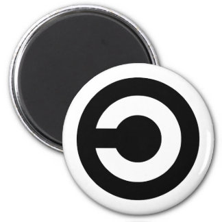 Copyleft - information wants to be free magnets
