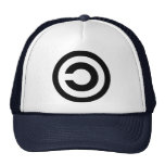 Copyleft - information wants to be free mesh hat