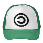 Copyleft - information wants to be free mesh hats