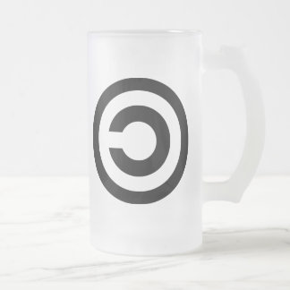 Copyleft - information wants to be free coffee mugs