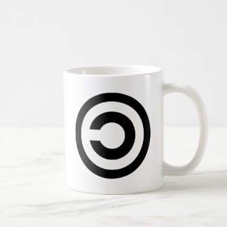 Copyleft - information wants to be free mug