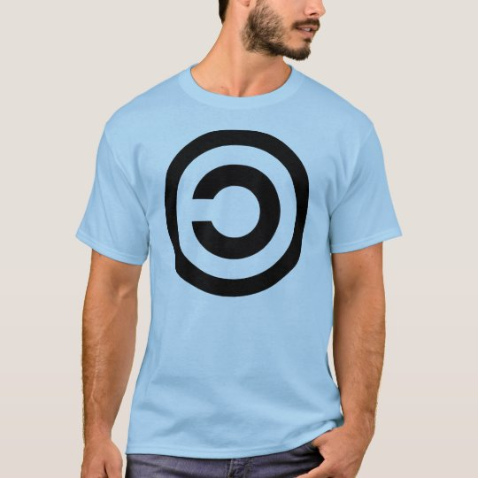 Copyleft - information wants to be free T-Shirt