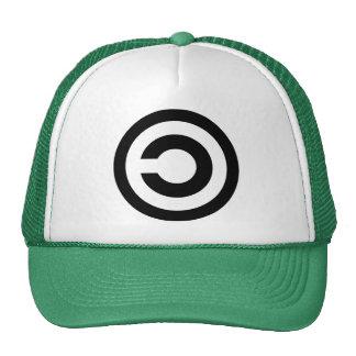 Copyleft - information wants to be free trucker hat
