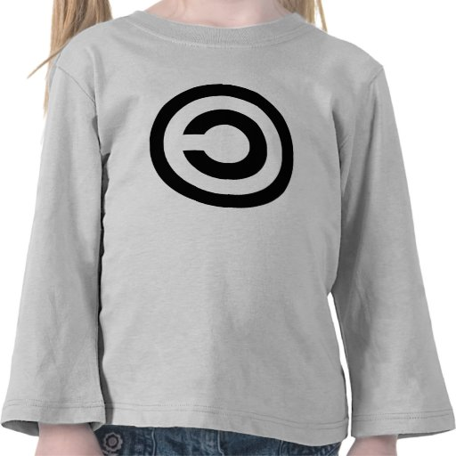 Copyleft - information wants to be free shirts