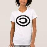Copyleft - la información quiere estar libre tee shirts