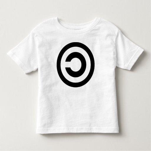 Copyleft - la información quiere estar libre t shirts