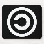 Copyleft - la información quiere estar libre tapetes de raton