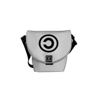 Copyleft Messenger Bag