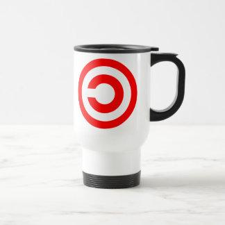 Copyleft 15 Oz Stainless Steel Travel Mug
