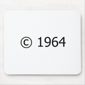 Copyright 1964 mouse pads