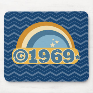 Copyright 1969 mouse pad