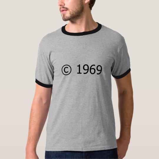 Copyright 1969 T-Shirt