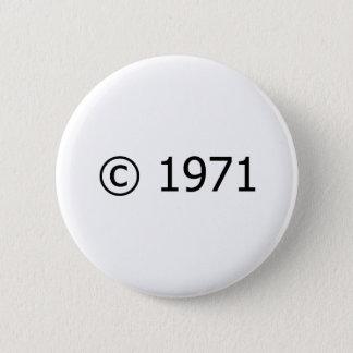 Copyright 1971 button