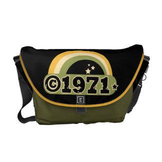 Copyright 1971 courier bag